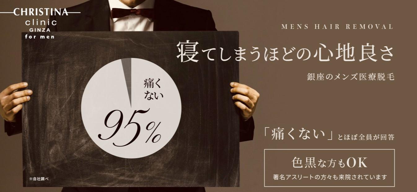 東京のおすすめヒゲ脱毛クリニック クリスティーナクリニック銀座